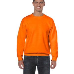 Safety orange sweatshirt