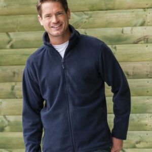 Russell full zip fleece